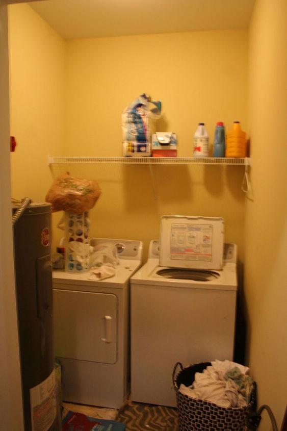 Our Laundry Room Decor Ideas Using Shelves Hometalk