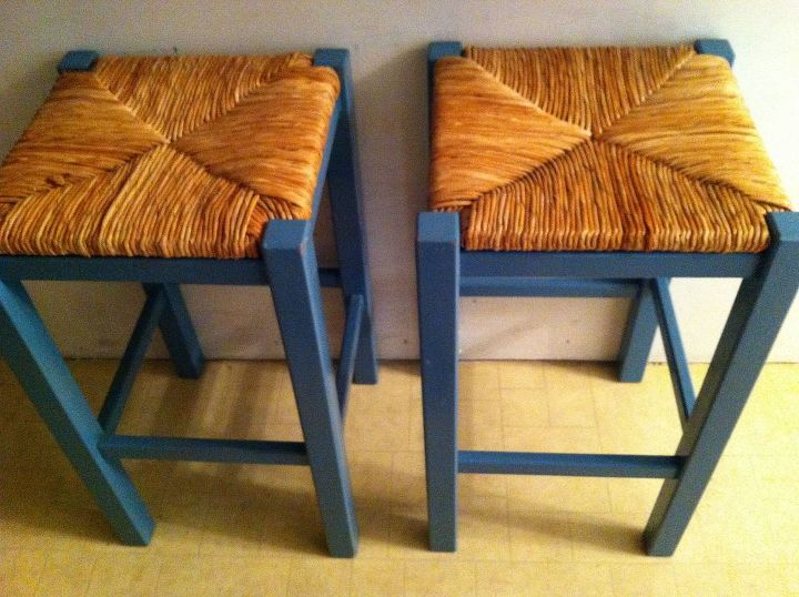 my stools, home decor, painted furniture, after