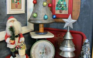 re purposed christmas trees decor ideas, christmas decorations, crafts, seasonal holiday decor
