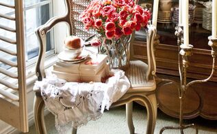 10 ways to add farmhouse french to your home, crafts, home decor, French chair bought at auction for 40