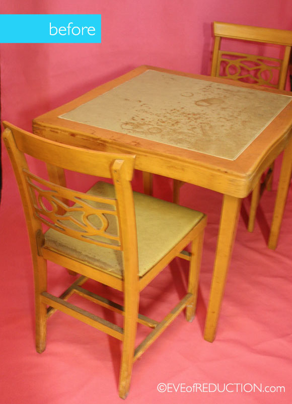 how to laminate fabric to refurb high traffic kid s table  painted furniture   Before. How to laminate fabric to refurb high traffic kid s table   Hometalk