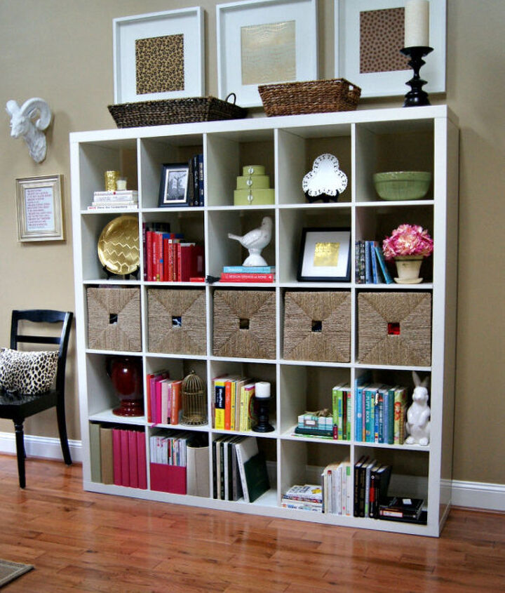 Expedit Bookcase Styling.