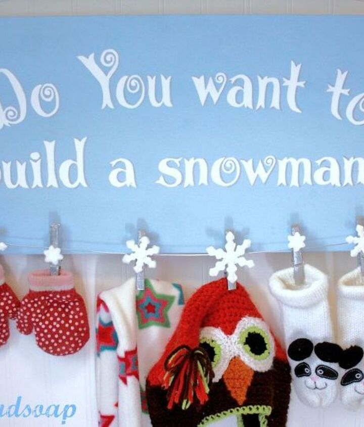 how to make a frozen inspired snowman sign, crafts, seasonal holiday decor