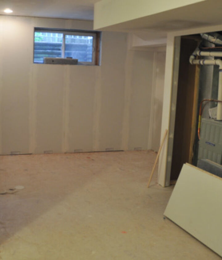 finishing our basement with smartwall, basement ideas