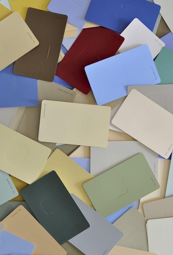 diy paint chip wall art, crafts, repurposing upcycling, wall decor