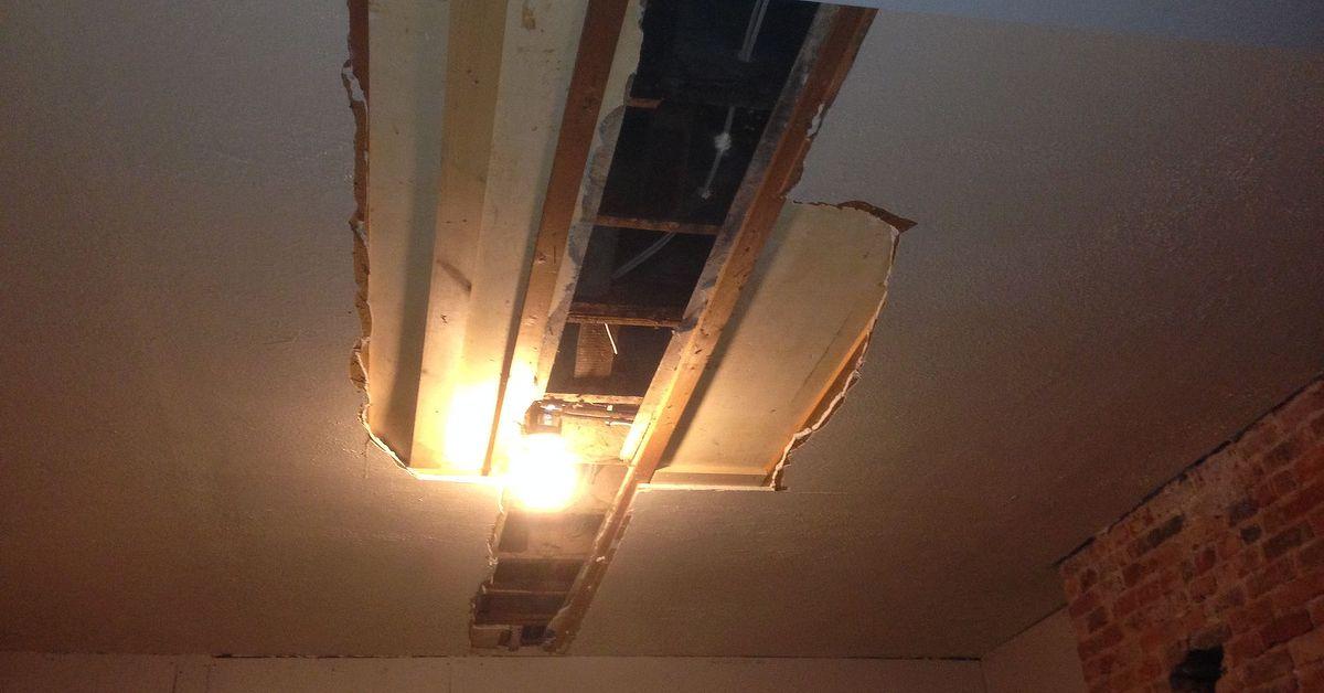 Super Easy Diy Faux Tin Ceiling Hometalk