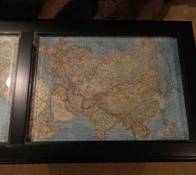 Coffee Table Makeover With Antique Maps, Chalk Paint, Painted Furniture,  These Maps Are
