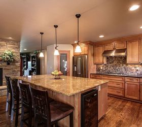 Great Parker Co Kitchen And Fireplace Reno, Fireplaces Mantels, CapStone Home  Renovations Parker CO Home