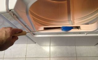 dryer duct cleaning dust bunnies are pyromaniacs, appliances, cleaning tips