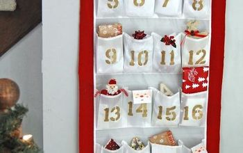 DIY Advent Calendar From a Shoe Organizer
