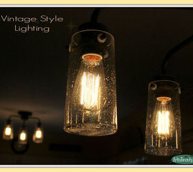 vintage style kitchen lighting update buh bye boob light diy electrical home decor