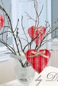 sentimental vintage hearts, crafts