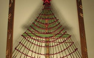 how to make a christmas tree from a rake, christmas decorations, crafts, repurposing upcycling, seasonal holiday decor