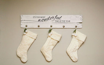 The Most Wonderful Stocking Hanger