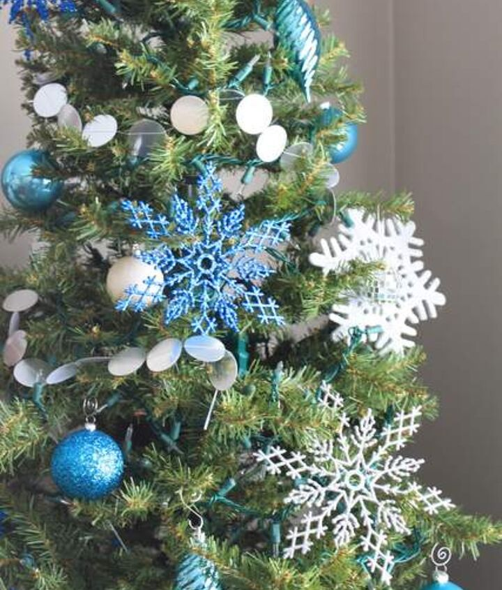 Blue Silver And White Christmas Tree Hometalk