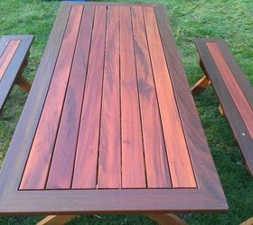 Picnic Table, Diy, How To, Painted Furniture, Woodworking Projects, After A