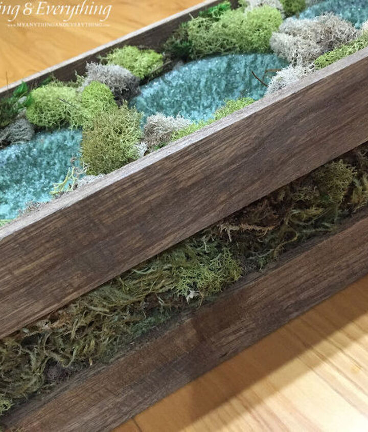 wood planter box using clear ornaments as the vases, christmas decorations, flowers, repurposing upcycling, seasonal holiday decor, succulents, woodworking projects