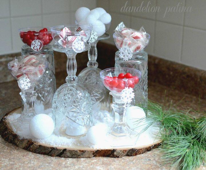 ideas for holiday candy bar, christmas decorations, crafts, repurposing upcycling, seasonal holiday decor