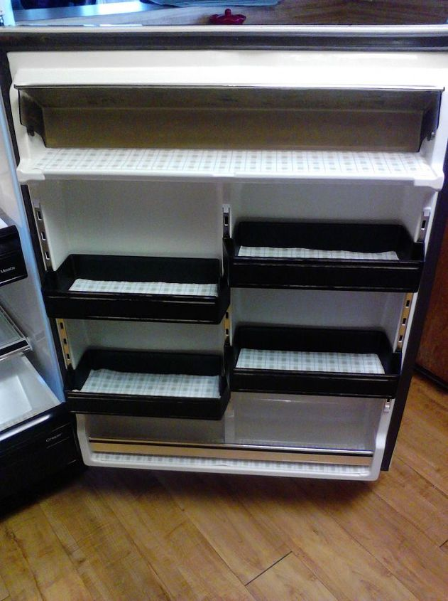for pin diy home shelf project tutorial fridge sweet the liners