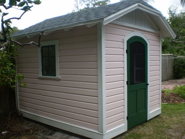Shed Living : 8'x10' Potting Shed/ Pool Equipment Cover  Hometalk