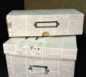 Gentil Cover Shoeboxes With Newspaper For Stylish Frugal Storage, Crafts,  Decoupage, Shoe Boxes Covered