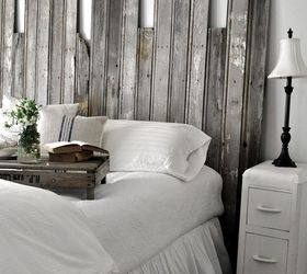 Marvelous Wooden Headboard Part - 12: Reclaimed Wooden Headboard, Home Decor, Woodworking Projects, Salvaged  Boards Create An Interesting Rustic