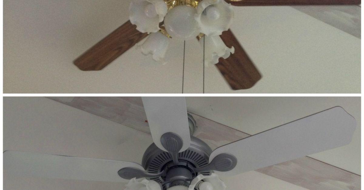 6 ceiling fan update hometalk mozeypictures Gallery