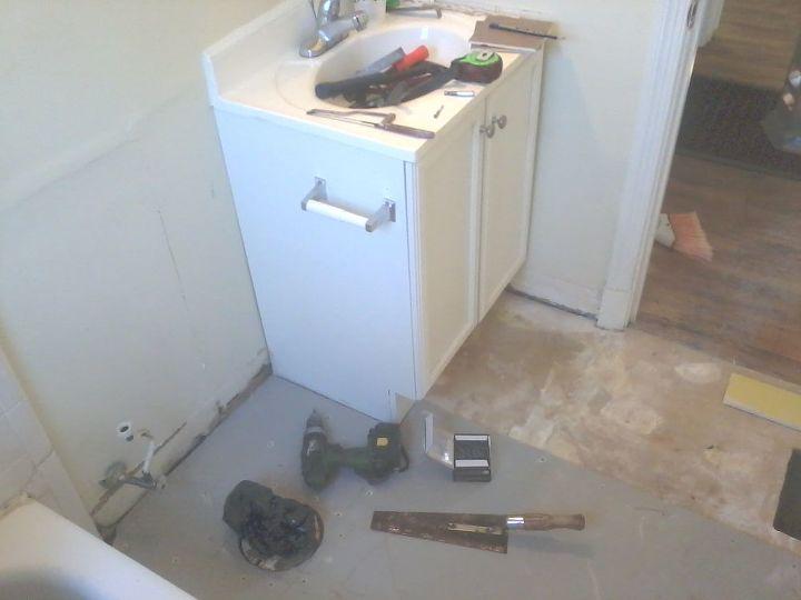 70 & 80's bathroom remodeling