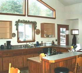 High End Kitchen Make Over Of A Mountain Home, Countertops, Hardwood  Floors, Home