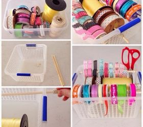 diy organised storage for ribbon string and tape craft rooms crafts organizing & DIY - Organised Storage for Ribbon String and Tape! | Hometalk
