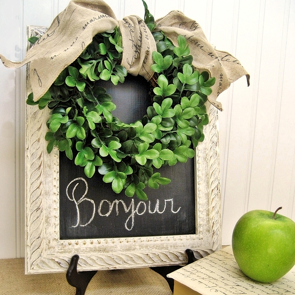 Boxwood And French Script Bargains Crafts Home Decor