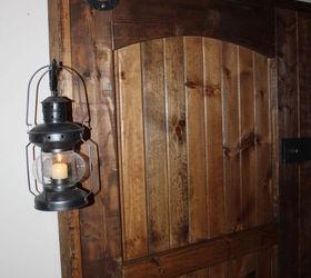 How To Build A Rustic Barn Door Headboard, Bedroom Ideas, Doors, Home Decor