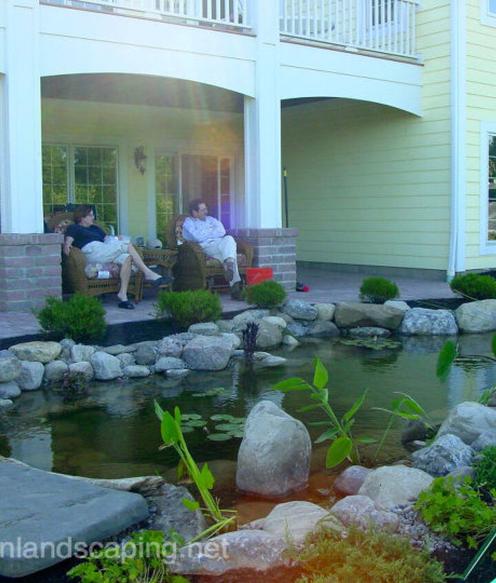 Tip # 1 Location: Locate your pond close to the house so that it can be enjoyed from both inside and outside the home.