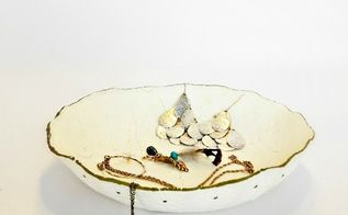 diy stamped clay jewelry dish, crafts, DIY Stamped Clay Jewelry Dish