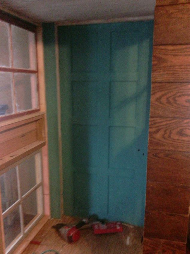 diy cabinet pantry from old doors and windows, closet, diy, kitchen cabinets, kitchen design, storage ideas