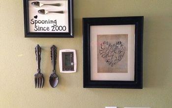 Easy framed Kitchen spoon art