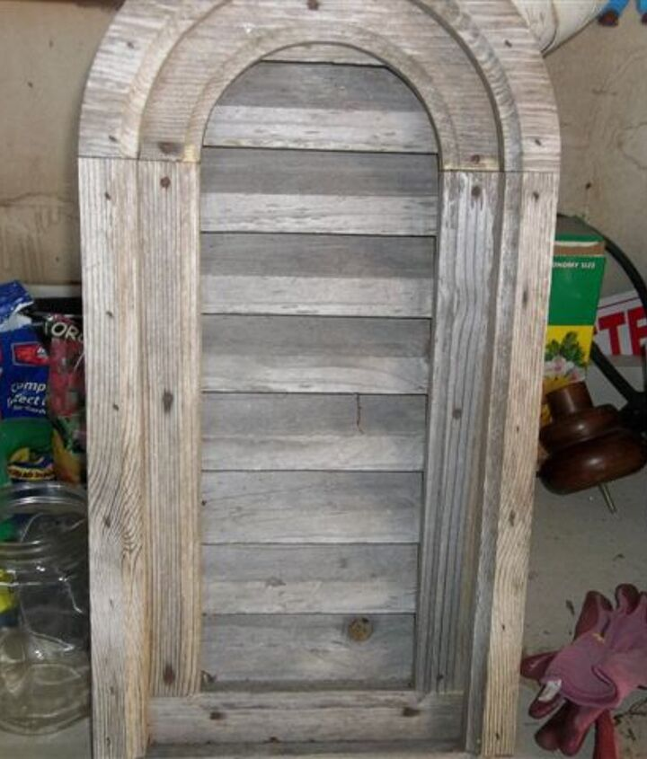 q a find at a torn down house, repurposing upcycling