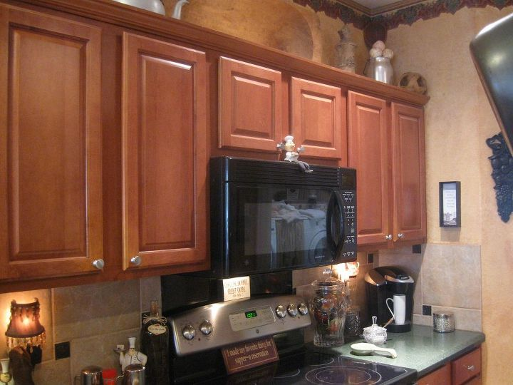 Original cabinets