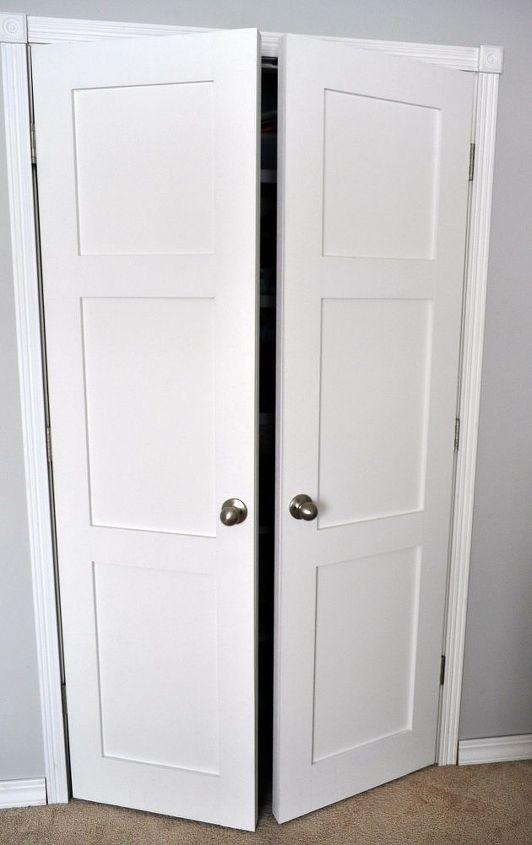 Updating Builder Grade Closet Doors Hometalk