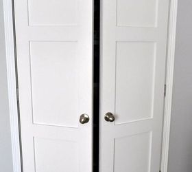 Updating Builder Grade Closet Doors, Closet, Doors, Updated Closet Doors