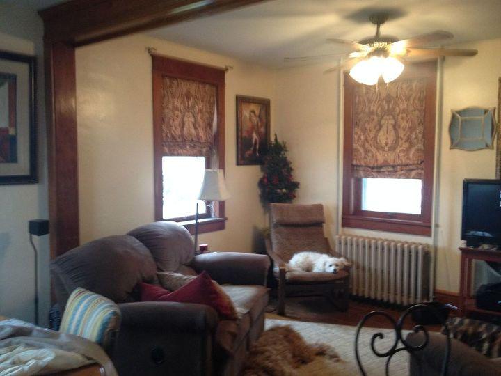 q window treatment decor ideas, home decor, living room ideas, window treatments, roman shades