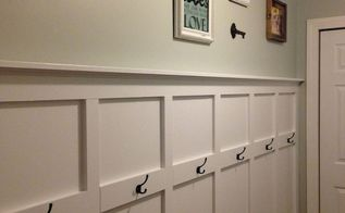 basement entrance wall decor, basement ideas, how to, painting, wall decor