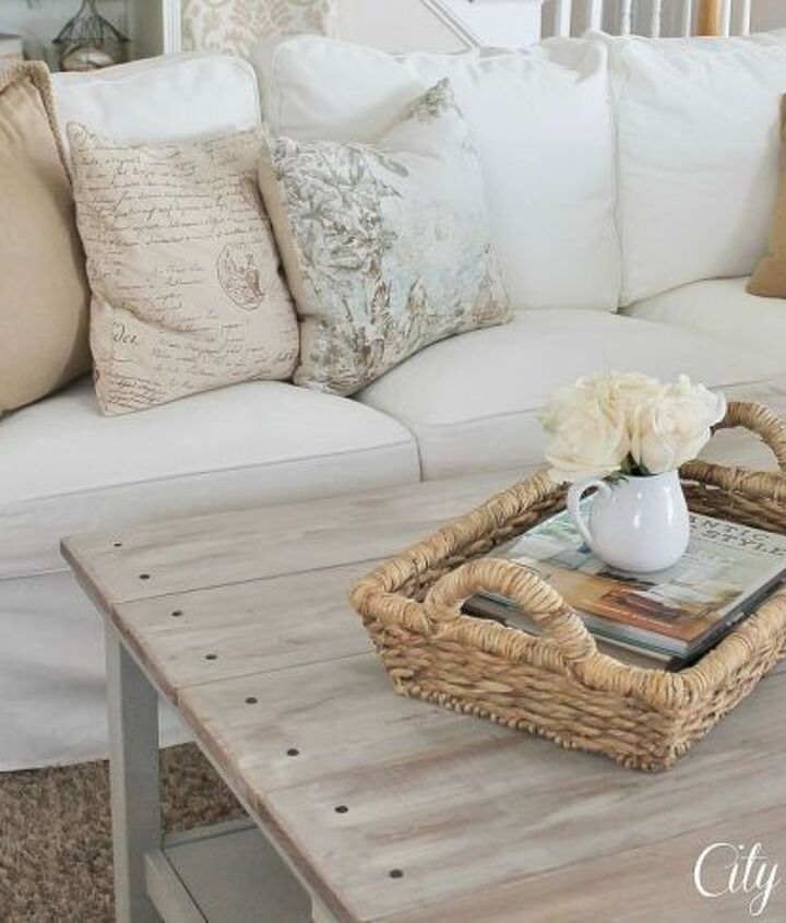 real life with white slipcovers amp tips on keeping them pretty, cleaning tips, home decor, living room ideas, reupholster