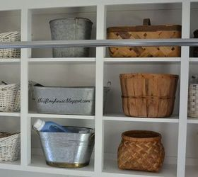 How I Organized My Open Cabinets In The Laundry Room Cheap, Crafts, Laundry  Rooms
