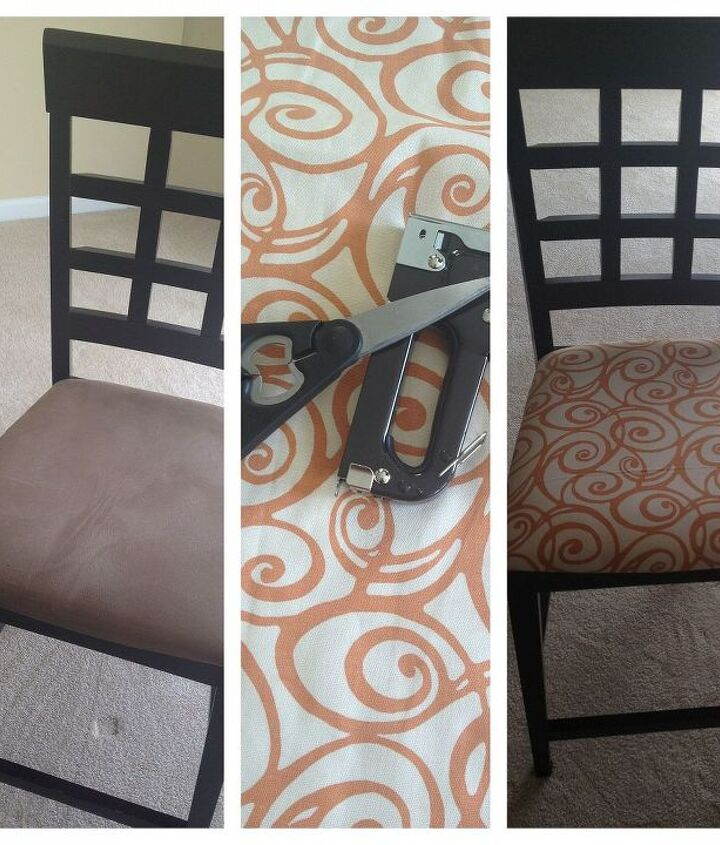 Dining Room Chair Before & After