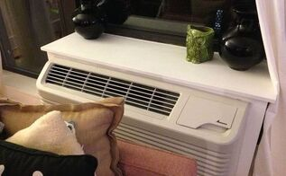need help with air conditioning unit next to couch, hvac