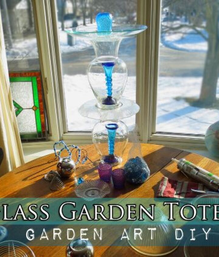 You can make a garden totem in under twenty minutes (plus drying time).