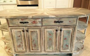 from traditional to beach chic kitchen remodel, countertops, kitchen cabinets, kitchen design, kitchen island, painting