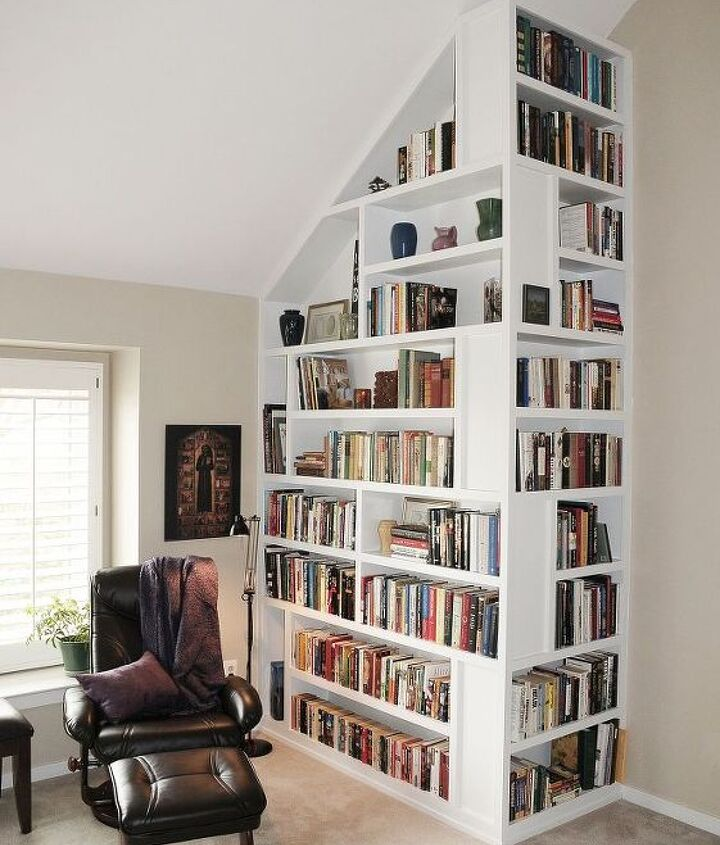 Custom bookcase.