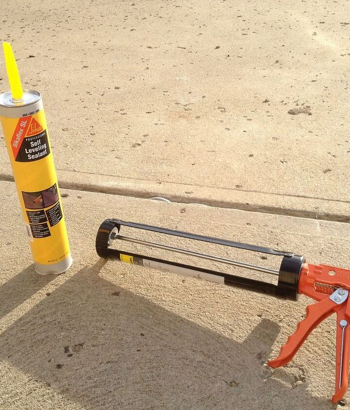 Make concrete expansion joints watertight with a self-leveling sealant